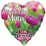 To A Wonderful Mom Sing A Tune Balloon