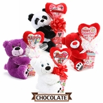 Valentine Plush  Pick Candy Gift