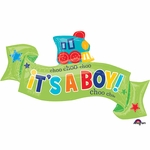 Welcome Little One - Boy Shape Balloon