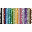 1 Inch Sequin Glitter Stretch Headbands in Lots of Colors