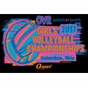 2017 OVR Girls' Volleyball Championship Short Sleeve Black T-Shirt