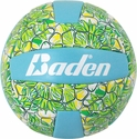 Baden Blue & Green Hawaiian Flower Mini Volleyball