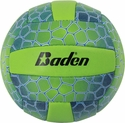 Baden Blue & Green Tortoise Shell Mini Volleyball