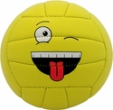 Baden Goofy Emoji Face Mini Volleyball