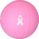 "Baden Mini 4"" Pink Ribbon Rubber Volleyballs"