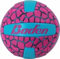 Baden Pink & Blue Tortoise Shell Mini Volleyball