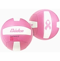 Baden Pink Ribbon Mini Volleyball
