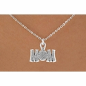 Baseball / Softball Mom Charm Necklace