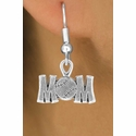 Baseball / Softball Mom Fishhook Earrings