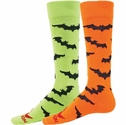 Black Bats Knee High Socks - 2 Color Options