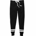 Volleyball Printed Black Game Day Jogger Pants