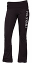 Black Yoga Pants - Choice of 16 Sports on Leg or Waist