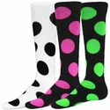 Bubble Dot Knee High Socks - Lots of Color Options