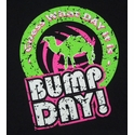 Bump Day! Design Black Volleyball T-Shirt