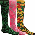 Camouflage Knee High Socks - 5 Color Options