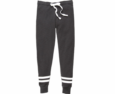 Volleyball Printed Charcoal Grey Game Day Jogger Pants