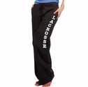 Charcoal Grey Ladies Fleece Sport Pants - Choice of 16 Sports on Leg