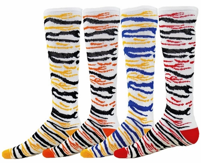 Cub Stripe Knee High Socks - 4 Color Options