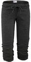 Soffe Dark Grey Heather Fleece Capri - Choice of 22 Sports on Leg or Rear