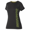 DeMarini Women's Yard-Work Vertical Wordmark Training Tee - in 2 Colors