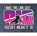 DIG Volleyball Design Heather T-Shirt
