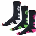Dig Volleyball Logo Performance Crew Socks - 6 Color Options