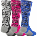 Digital Camo Performance Crew Socks - 7 Color Options