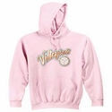 'Distressed' Volleyball Script Design Hooded Sweatshirt - in 20 Hoodie Colors