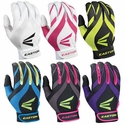 Easton Synergy II Fastpitch Adult Batting Gloves - in 6 Colors