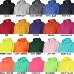 Eat Sleep Baseball Design Hooded Sweatshirt - in 20 Hoodie Colors