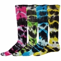 Eclipse Tie-Dye Tube Socks - 6 Color Options