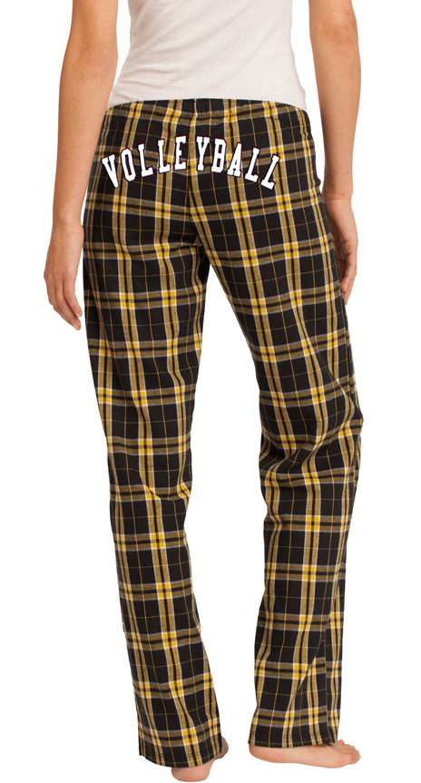 394321605224 ... Flannel Plaid PJ Lounge Pants - Choice of 22 Sport Prints on Leg or  Rear ...