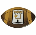 Football Touchdown Photo Frame Magnet