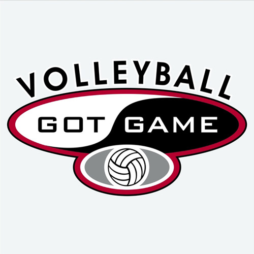 Volleyball Got Game Design Long Sleeve Shirt - in 18 Shirt Colors