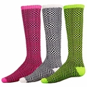Illusion Pattern Knee High Socks - 3 Color Options