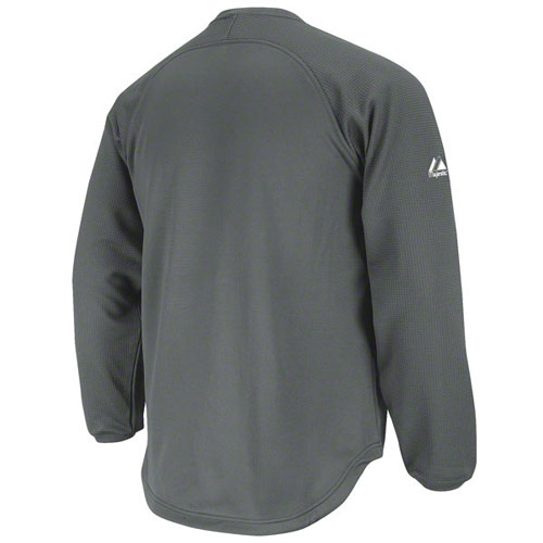 Majestic Brand Therma Base Home Plate Pullover Tech Fleece in 4 ...