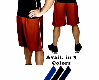Majestic Premier Mesh Shorts with Pockets - in 3 Colors