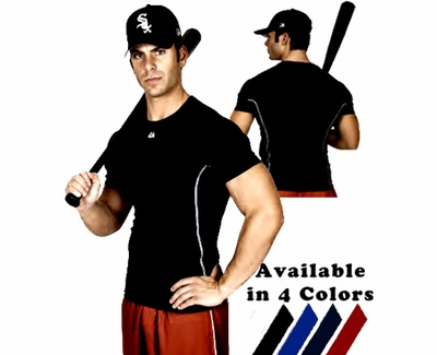 Majestic Viper Fitted Short Sleeve Shirt - in 4 Colors