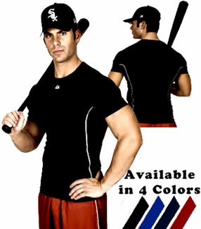Majestic Viper Youth Fitted Short Sleeve Shirt - in 4 Colors