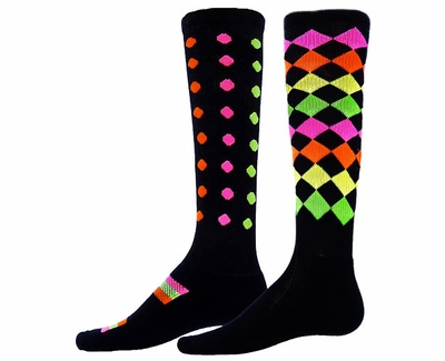 Marbles & Jewels Zany Knee High Socks - 2 Color Options