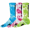 Maxim Neon Tie Dye Crew Socks - 3 Color Options