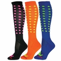 Mini Dots Zany Knee High Socks - 4 Color Options