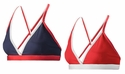 Mizuno Beach Magnus Navy & Red Sport Bra Top