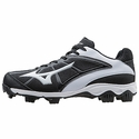Mizuno Black & White 9-Spike Finch Franchise 6 Softball Shoes