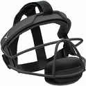 Mizuno Fastpitch Softball Black Steel Fielder's Mask in Youth & Adult