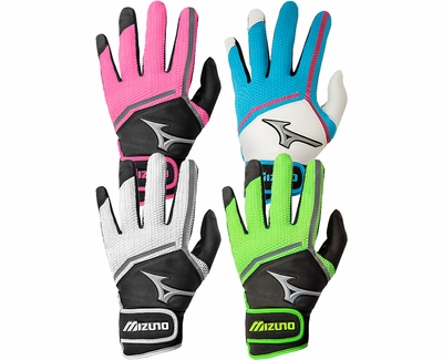Mizuno Finch Adult Female Batting Gloves - in 4 Colors
