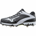 Mizuno Metal Cleated 9-Spike Swift 4 Black Softball Shoe