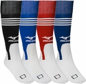 Mizuno Performance Knee High Stirrup Socks - 4 Color Options