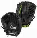 "Mizuno Prospect Youth Fastpitch 12"" Black & Green Softball Glove"