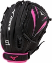 "Mizuno Prospect Finch Fastpitch 11"" Black & Pink 2016 Softball Glove"